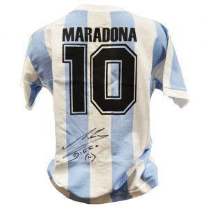 Maradonna Signed Argentina Shirt