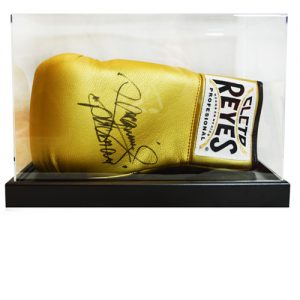 Manny Pacquiao Signed Glove in an Acrylic Case