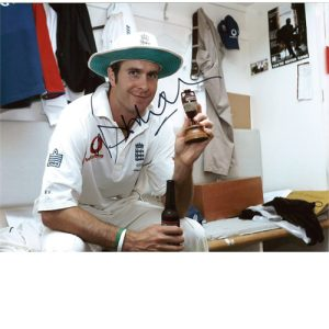 Michael Vaughan Signed Photo