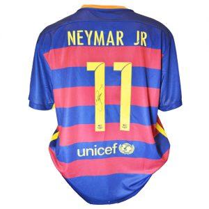 Neymar Signed Barcelona Shirt