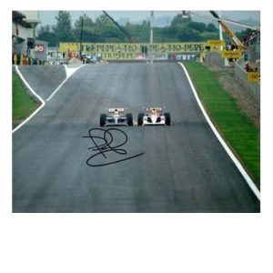 Nigel Mansell Signed Photo