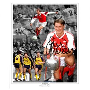 Paul Merson Signed Photo Montage