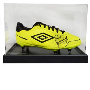 Paul Gascoigne Signed Football Boot in a Display Case