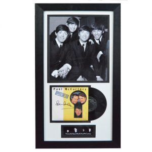Paul McCartney Framed Signed Vinyl Cover Display