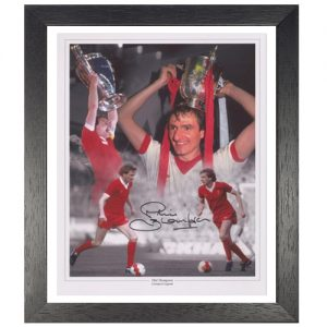 Phil Thompson Framed Signed Liverpool Photo Montage