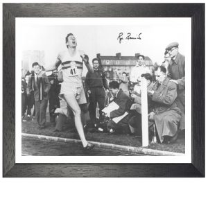 Roger Bannister Framed Signed Photo