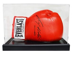 Ricky Hatton Signed Boxing Glove in an Acrylic Case
