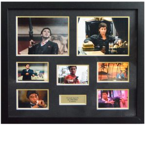 Al Pacino Framed Signed Scarface Display