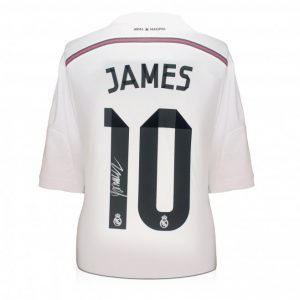James Rodríguez Signed Real Madrid Shirt