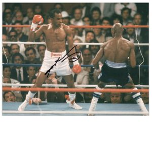 Sugar Ray Leonard Signed Photo Vs Marvin Hagler