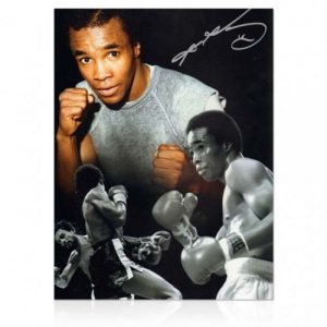Sugar Ray Leonard Signed Photo