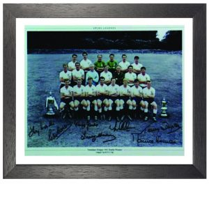 Tottenham 1960 – 1961 Framed Signed Photo