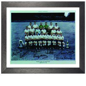 Tottenham 1960 – 1961 Framed Signed Photo