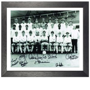 Tottenham 1984 Team Framed Signed Photo
