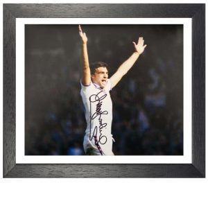 Trevor Brooking Framed Signed Photo