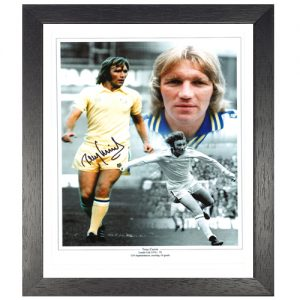 Tony Currie Framed Signed Photo Montage