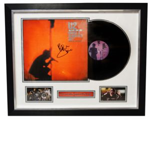 U2 Framed Display signed by Bono