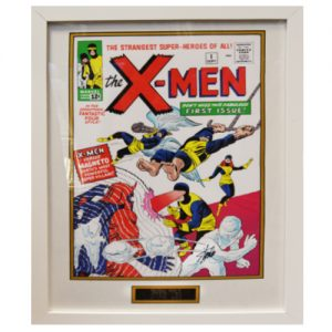 X-Men Framed Issue 1 Print signed by Stan Lee
