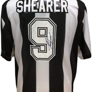 Alan Shearer Signed Newcastle Shirt
